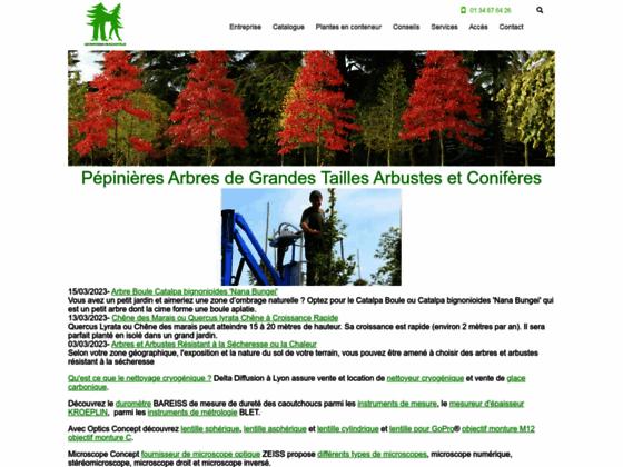 Pépinières Bazainville - S.E. Espaces Verts Jardins