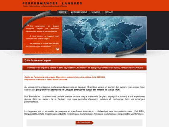 Performances langues, formateur en langues étrangè