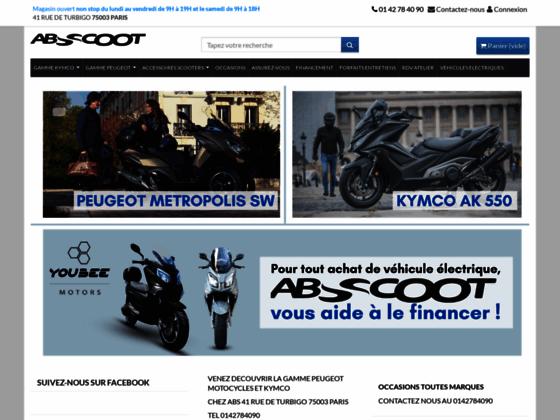 Achat en ligne de scooter Peugeot