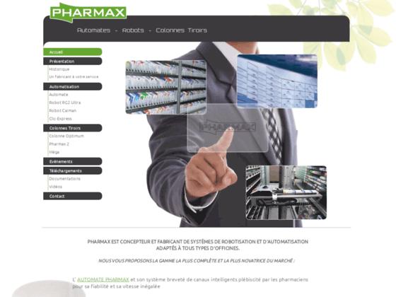 Pharmax: Fabricant de robot et automate