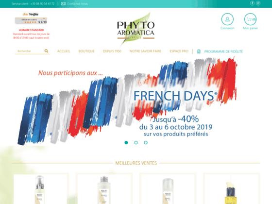 huile de massage naturelle en vente chez Phytoarom