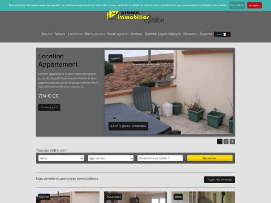 Agence immobilière Pibrac Immobilier Gestion