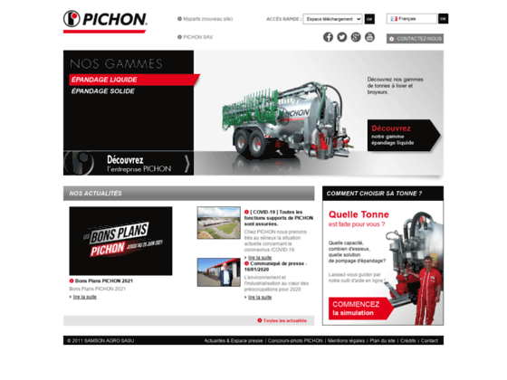 Pichon Industries - Epandeur à lisier