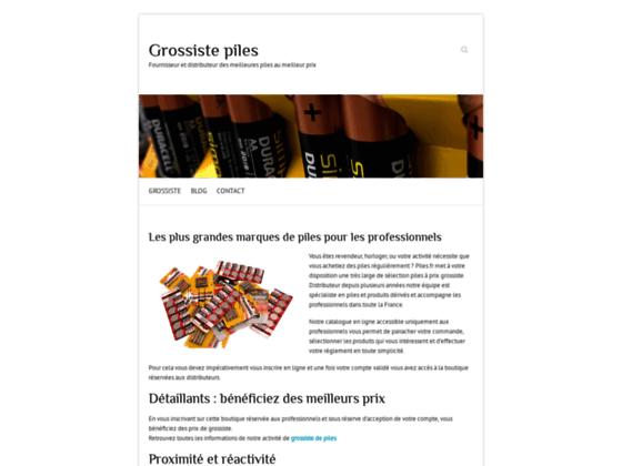 Piles | Informations sur les piles et batteries