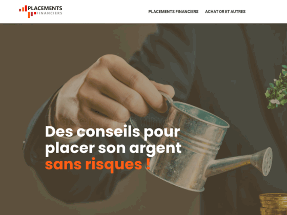 Vos placements financiers sur internet