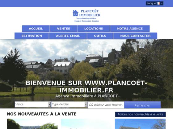 Agence immobilière Plancoet Immobilier
