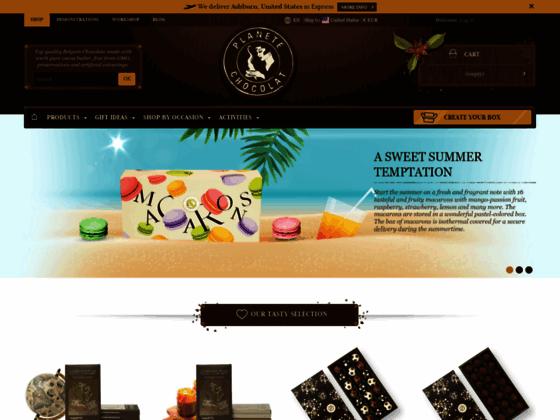 Vente de chocolats belges en ligne et livraison
