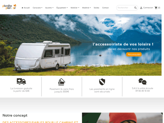 Matériel de camping et location camping-car
