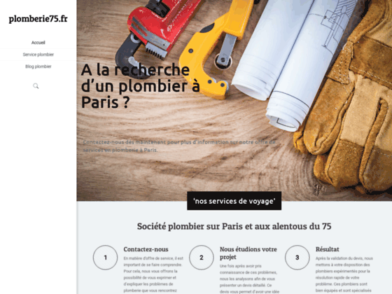 Plombier Paris : Intervention plomberie Paris, Ile de France