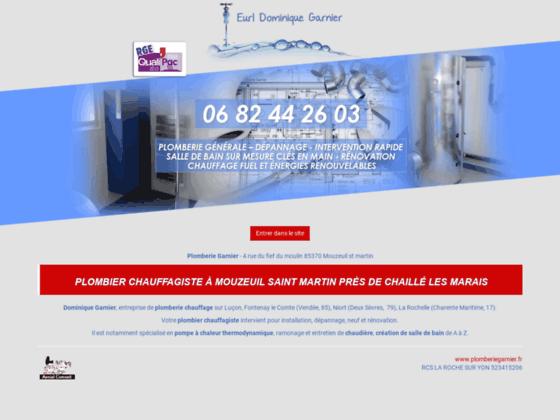 Garnier dominique - plomberie La Rochelle