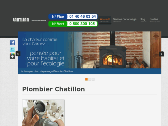 plombier Chatillon  -  plombier 92320