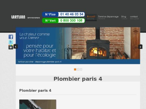plombier  paris 4 - plombier 75004