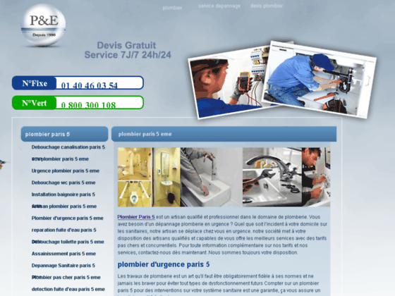 plombier paris 5eme - plombier 75005