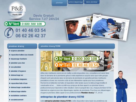 plombier drancy - plombier 93700