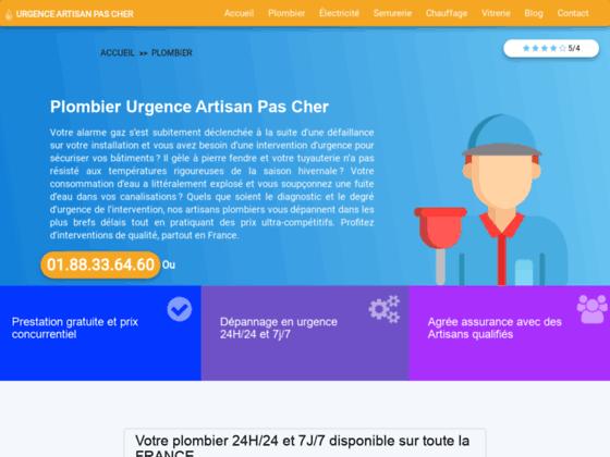 Plombier Drancy - tel 01 40 46 03 54