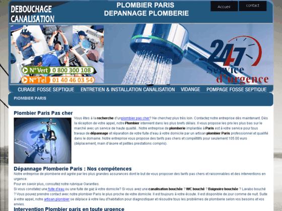 Plombier Paris : les meilleurs plombiers Pas cher à Paris