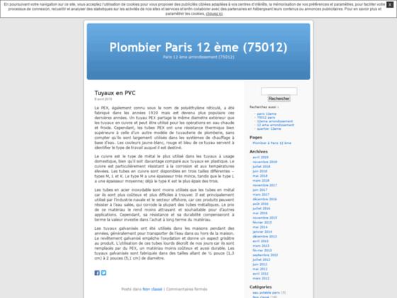Urgence Plombierparis12.unblog