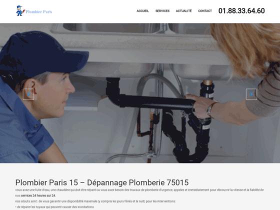 D�pannage chauffage Paris 15