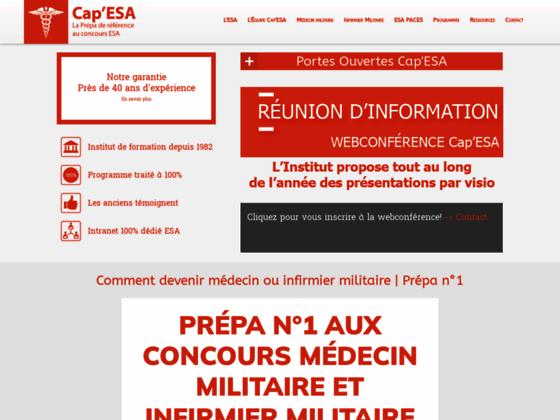 Cap'ESA, réussissez le concours ESA !