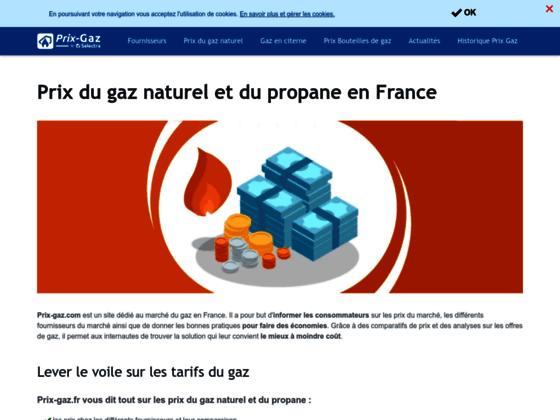 prix du gaz naturel