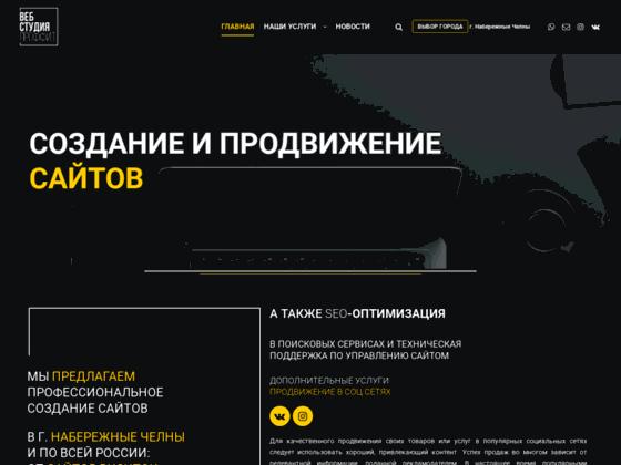 Скриншот сайта proffit-site.ru