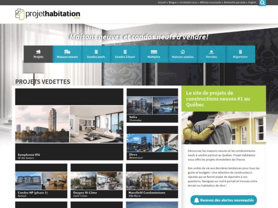 Maisons neuves et condos neufs à vendre | Projet Habitation