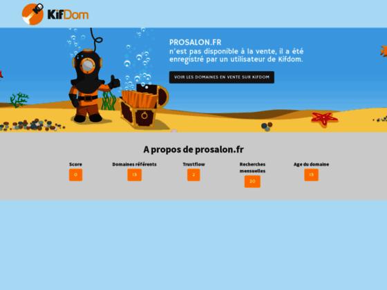 Prosalon | Grossiste Coiffure Et Esthetique