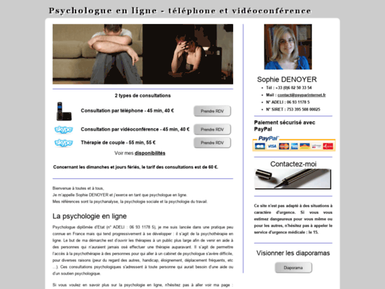 Psychologue en ligne