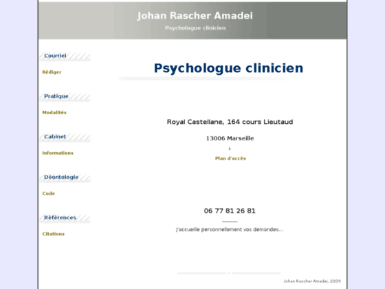 Psychologue clinicien - Marseille