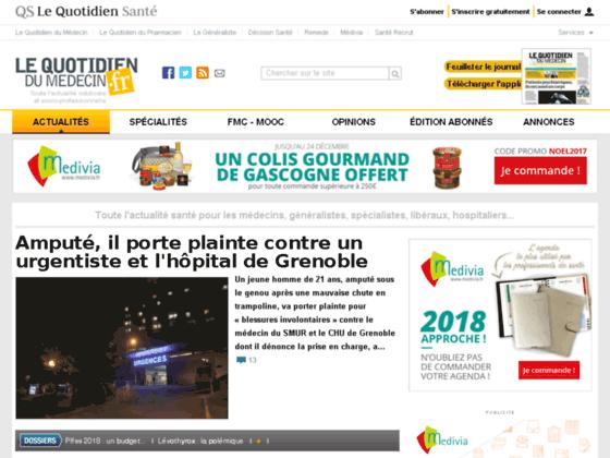 Photo image Quotidien du Medecin