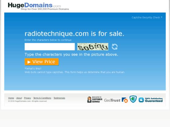 www.radiotechnique.com