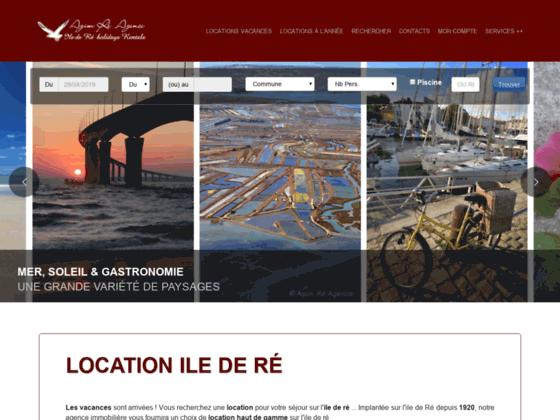 Agim Ré Agence : location immobilière en île de Ré