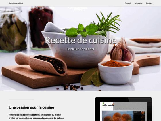 ABC de la cuisine française, des recettes de cuisine