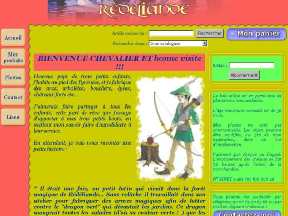 Redeliande.com : fabrication de jouet et jeux en bois medievaux
