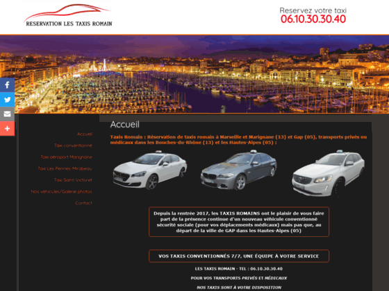Reservation taxi Marseille