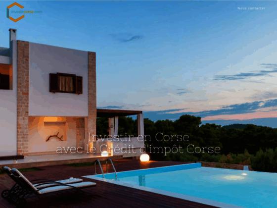 Location residence de tourisme en Corse