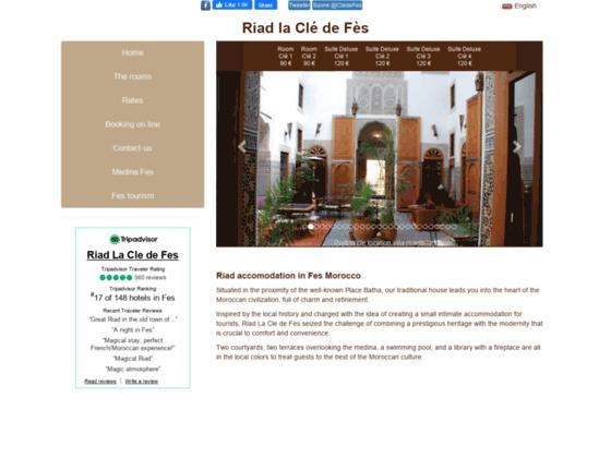 Riad Fes-Fes Riad-riad fez-fes guesthouse-hotel fes-riad la cle de Fes