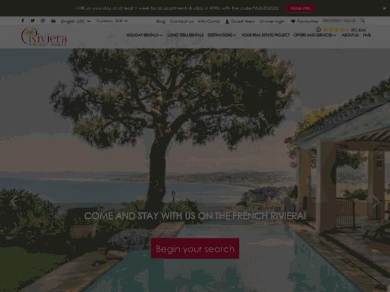Location de vacances saisonnieres bord de mer (Menton, Antibes, Cannes, Frejus, Nice, Bandol, Grasse