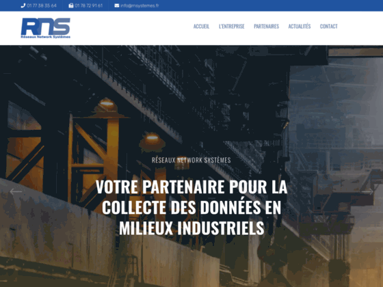 RNS Distributeur Systèmes Acquisition de Données