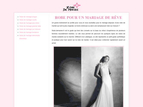 Le guide conseil pour la robe de mariage
