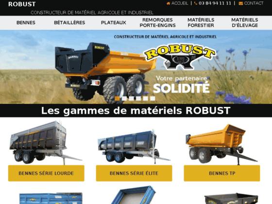 Fabricant de matériels agricole Robust 2000
