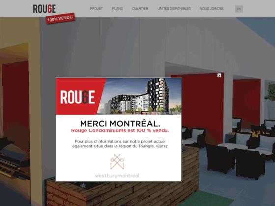 Condo à vendre Montréal | Rouge Condominiums