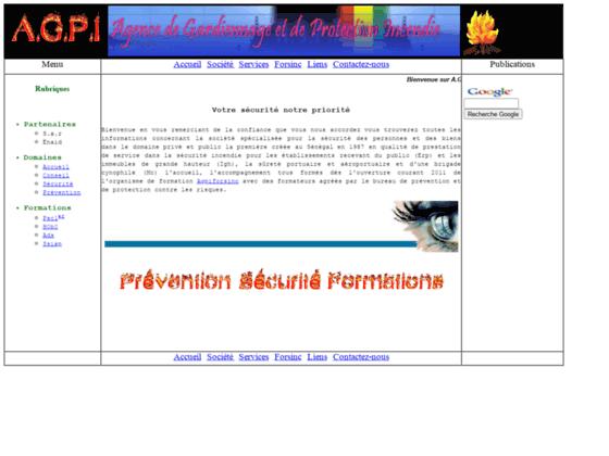 agpi Votre agence de gardiennage et de protection incendie