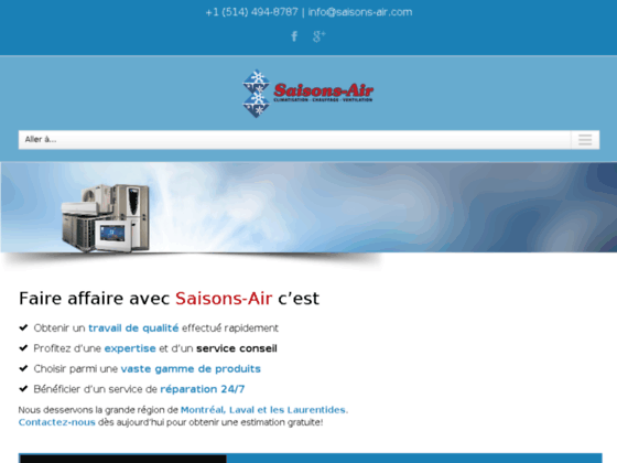Fujitsu air climatisé Montréal