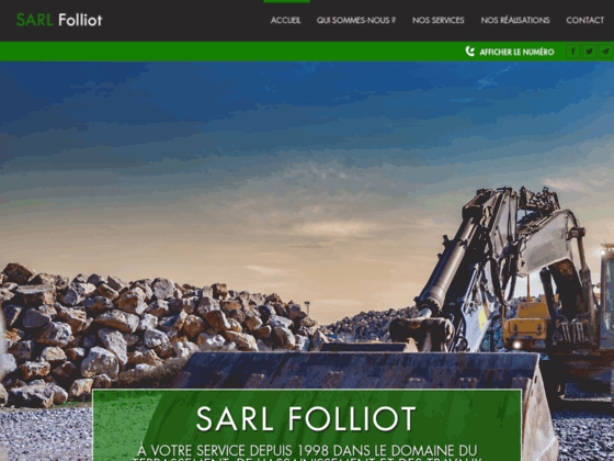 Assainissement � Gavray - SARL Folliot