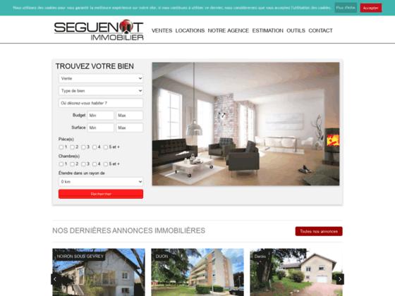 Agence immobilière Bossuet sur Dijon