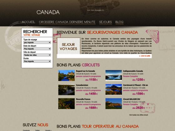 Voyages Canada