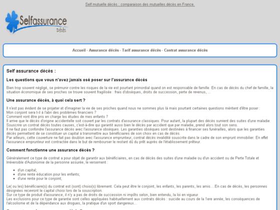 http://www.self-assurance-deces.fr/