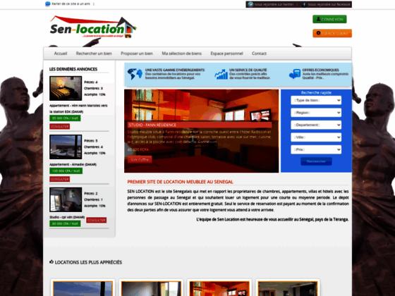 Location meublée pour les vacances ou les affaires au Sénégal.