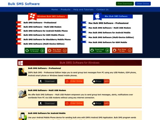 Masowego wysyłania SMS SMS Grupa Online Bramka SMS Software Pobierz SMS z PC
